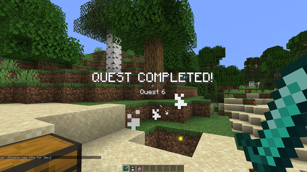 Custom Quests mod for minecraft screenshots 03