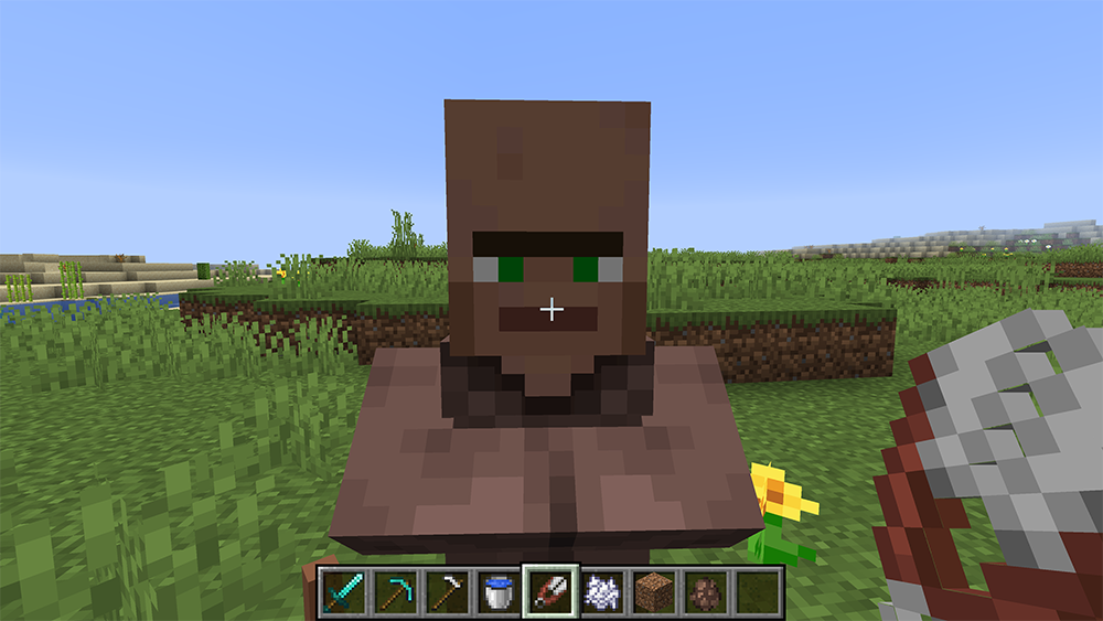 Cuting Villagers Nose mod for minecraft screenshots 01