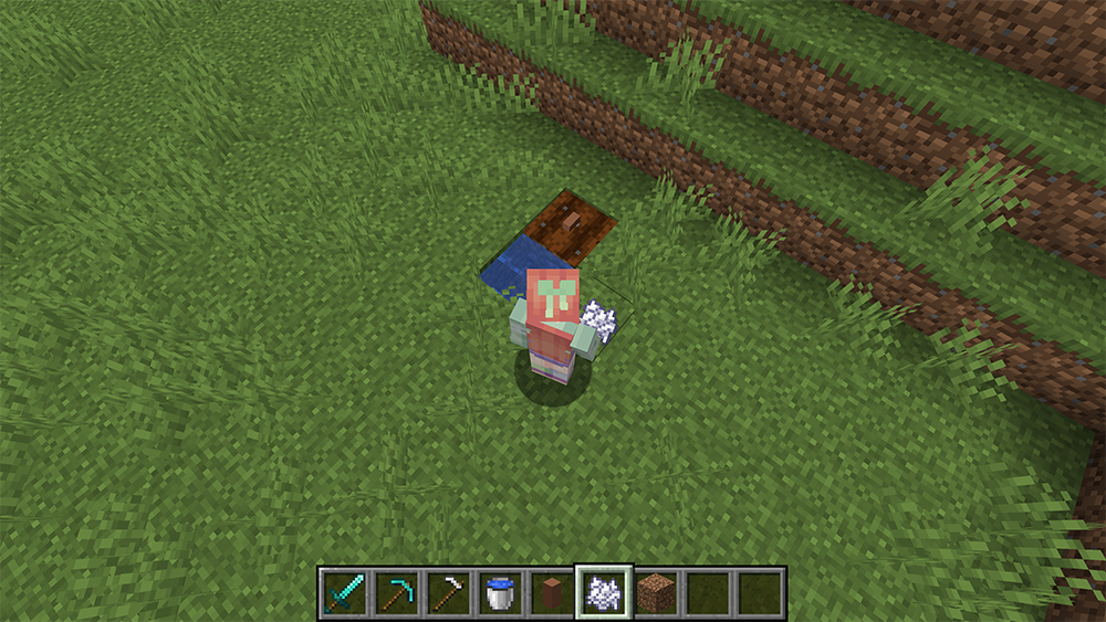 Cuting Villagers Nose mod for minecraft screenshots 03