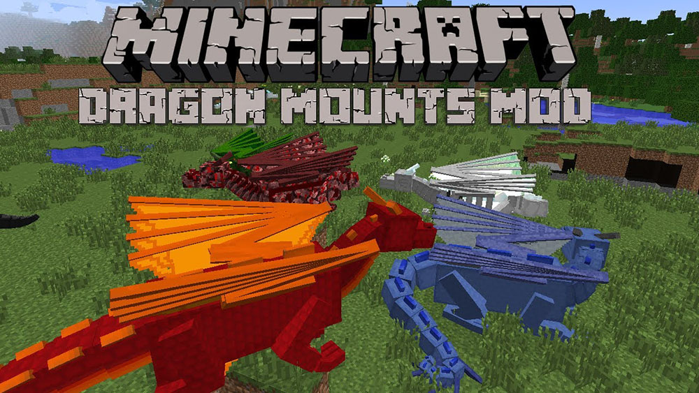 Dragon Mounts Mod