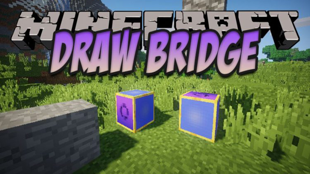Draw Bridge mod for minecraft