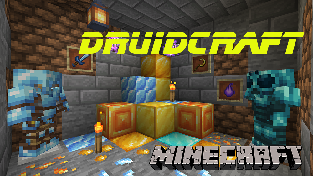 Druidcraft mod for minecraft