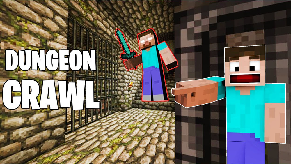 Dungeon Crawl mod for minecraft