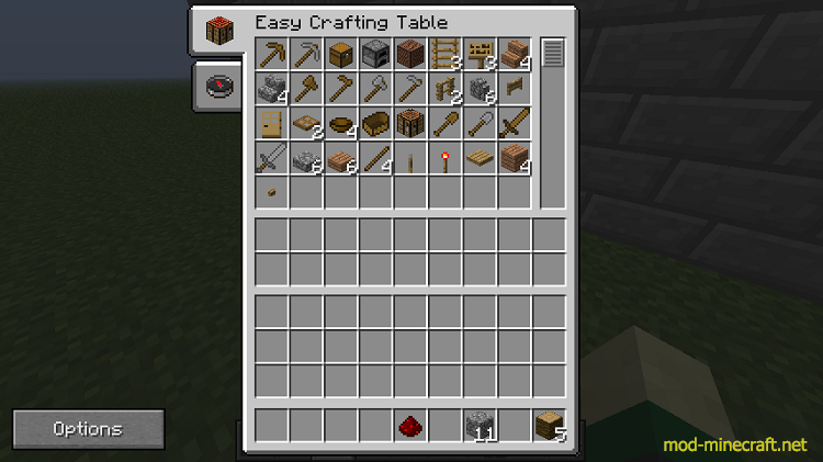 Easy crafting mod 1 minecraft mods - Minecraft crafting table recipes list ...