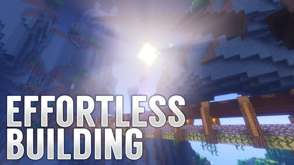 Effortless Building mod for minecraft