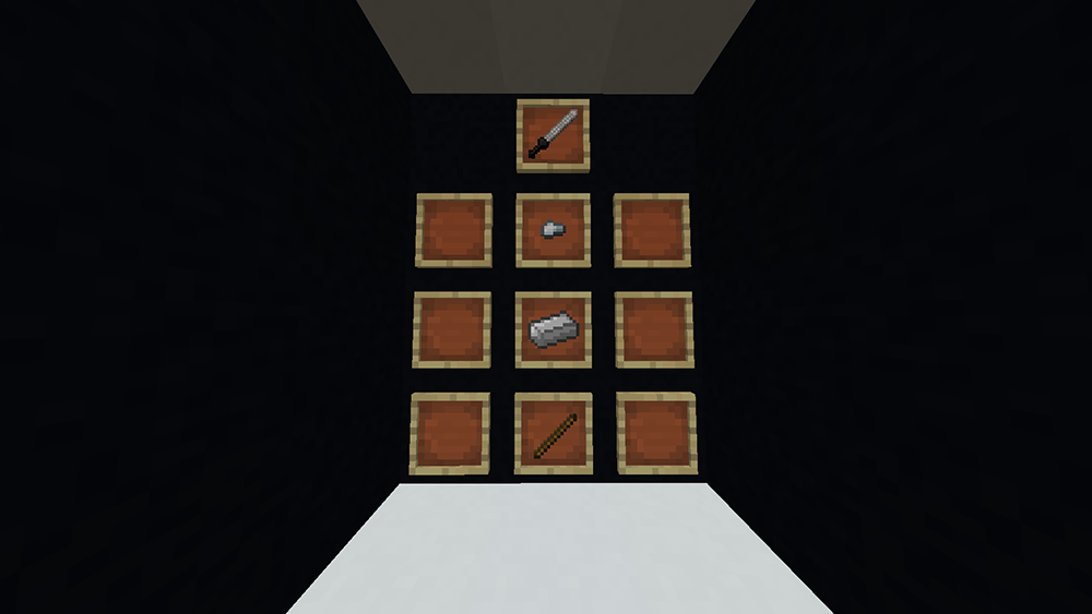 Elemental Blades mod for minecraft recipes 09