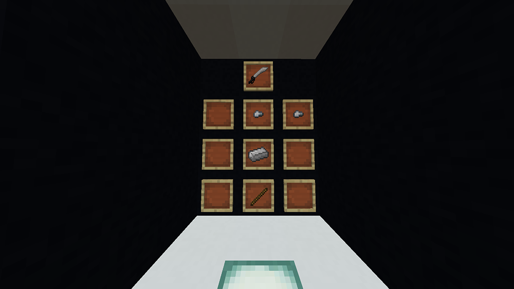 Elemental Blades mod for minecraft recipes 10