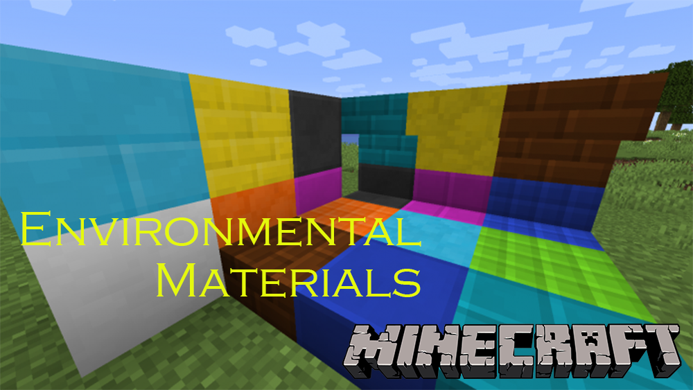Environmental Materials mod for minecraft