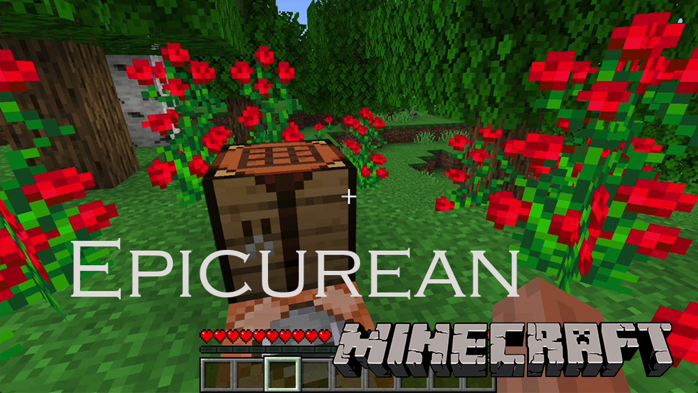 Epicurean mod for minecraft
