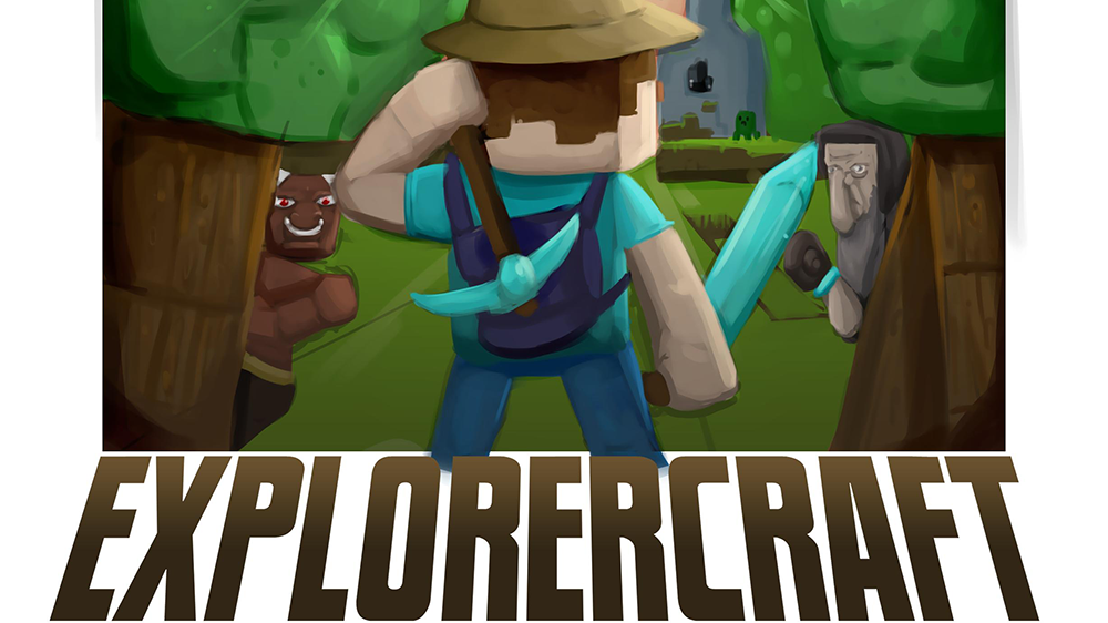 Explorercraft mod for minecraft