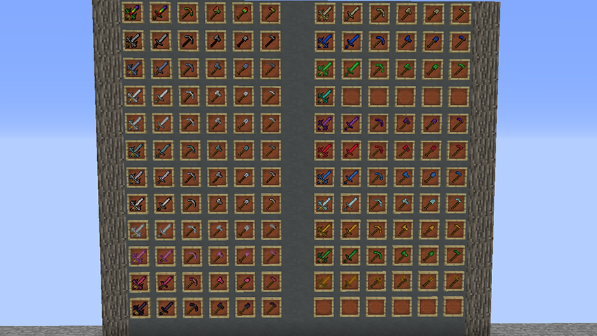 Extended Items and Ores mod for minecraft screenshots 01