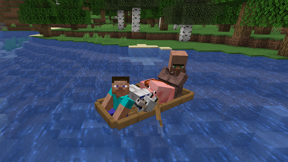 Extra Boats mod for minecraft screenshots 05