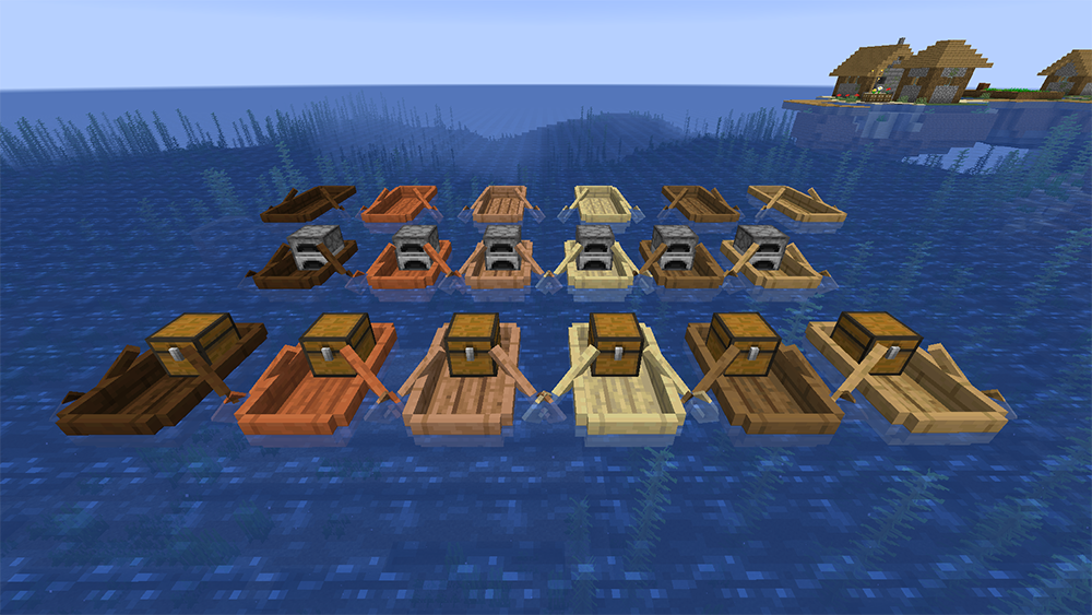 Extra Boats mod for minecraft screenshots 07