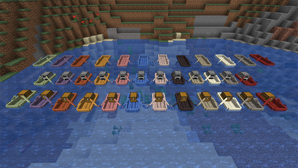 Extra Boats mod for minecraft screenshots 08