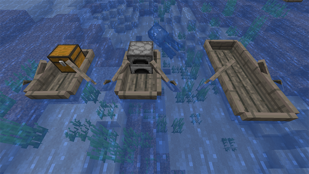 Extra Boats mod for minecraft screenshots 09