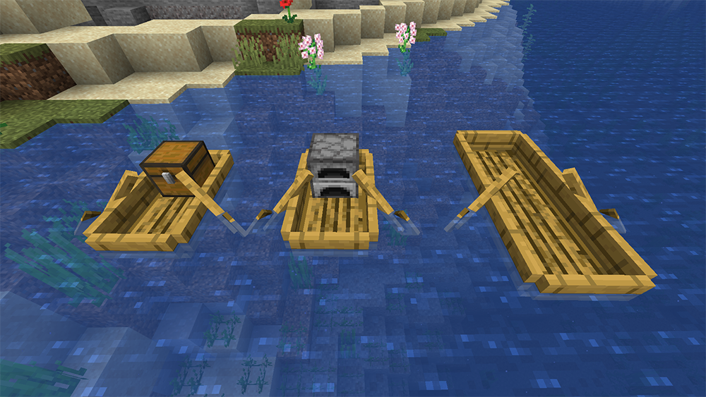 Extra Boats mod for minecraft screenshots 10
