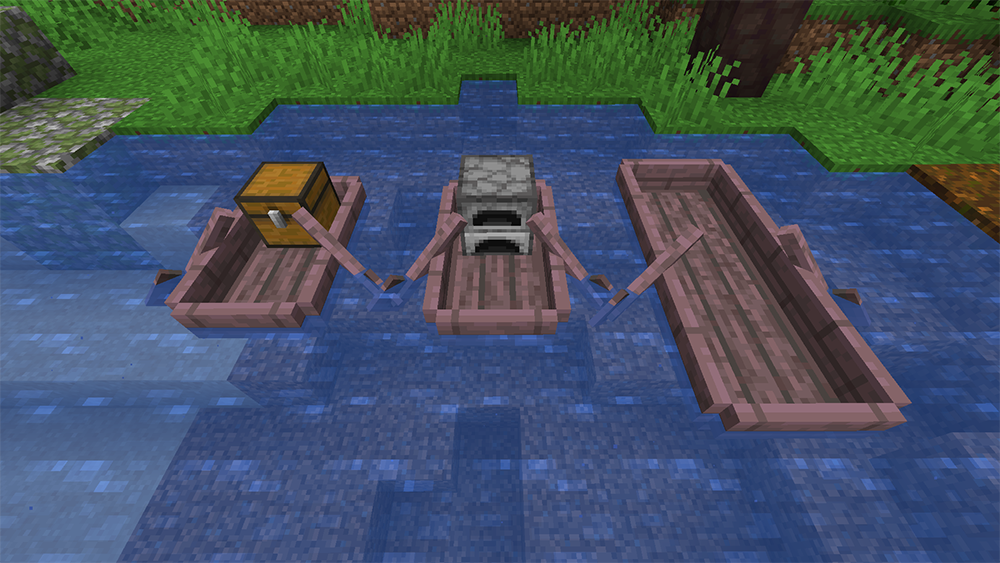Extra Boats mod for minecraft screenshots 11