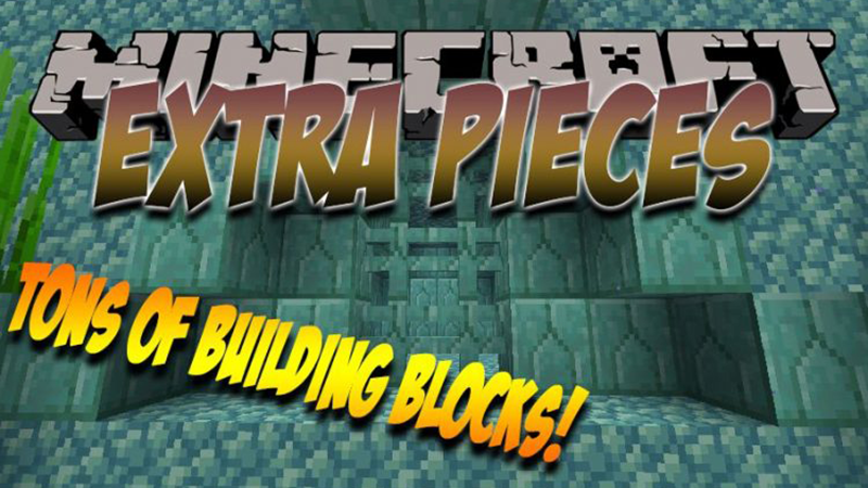 Extra Pieces mod for minecraft