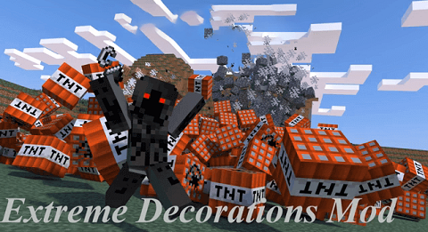Extreme Decorations Mod For Minecraft 1 7 10 1 7 2 Mod