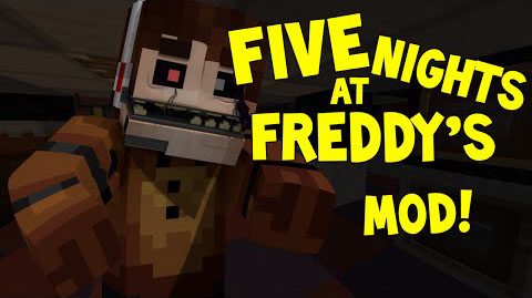 FNAF Mod [1.7.10] FNAF Mod Download