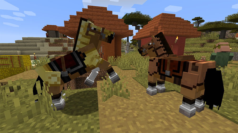 Familiar Horses mod for minecraft screenshots 02
