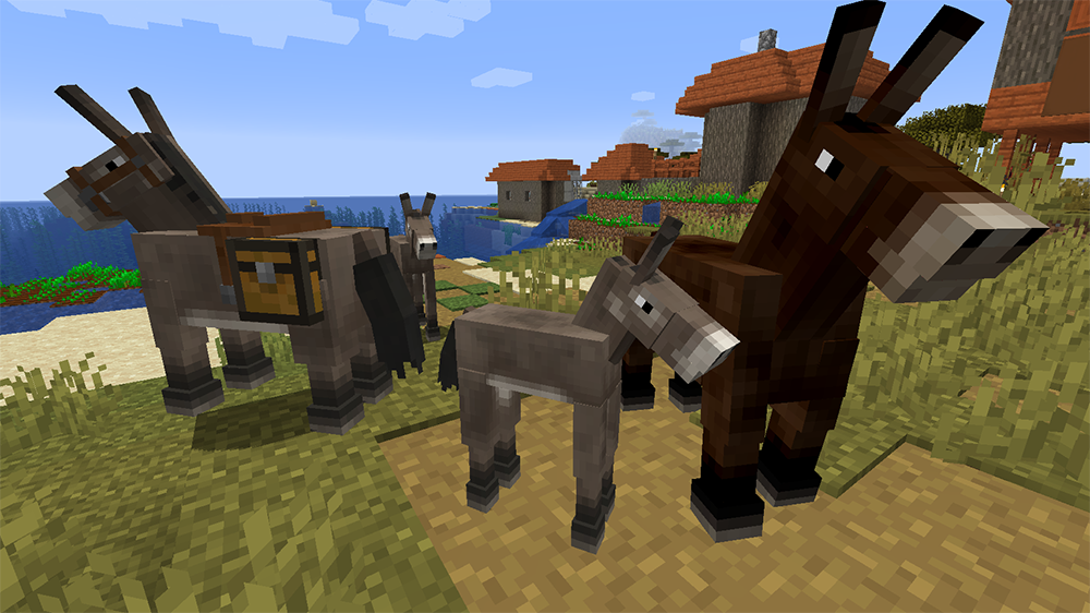 Familiar Horses mod for minecraft screenshots 03