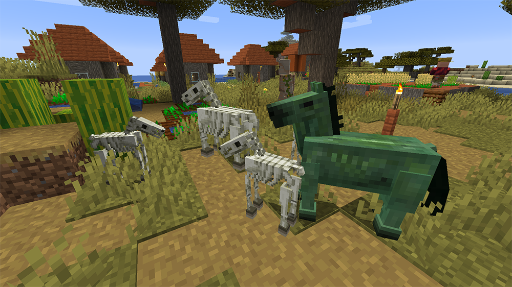 Familiar Horses mod for minecraft screenshots 04
