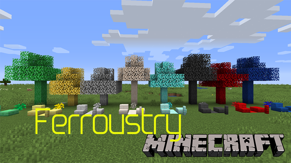 Ferroustry mod for minecraft