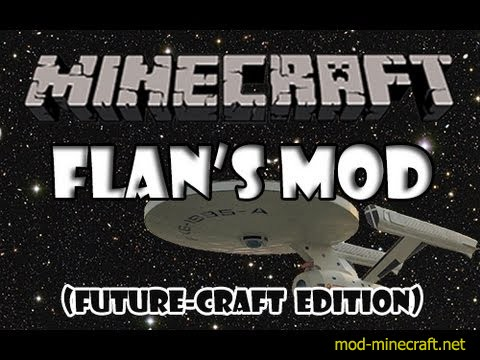 Flan's FutureCraft Pack Mod