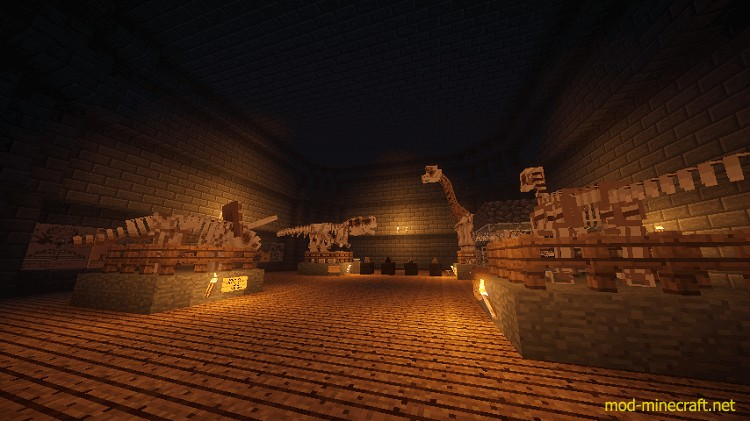 Fossils and archeology revival mod 5 [1.7.10] Fossils and Archeology Revival Mod Download