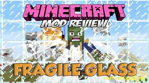 Fragile Glass Mod [1.8.9] Fragile Glass Mod Download