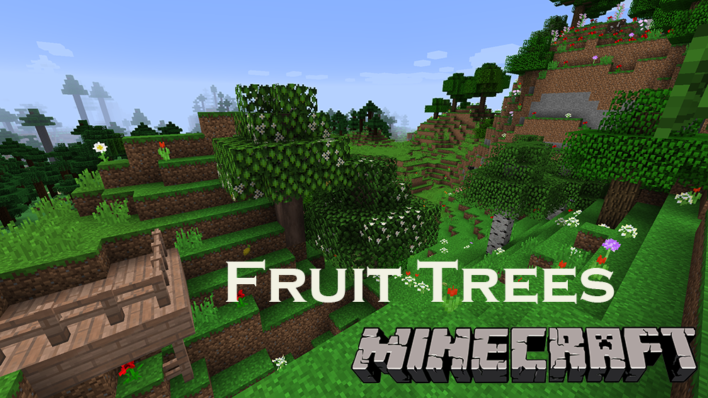 Fruit Trees mod for minecraft