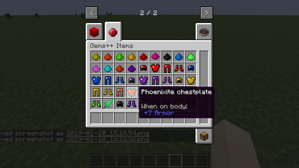 Gems Plus mod for minecraft screenshots 03