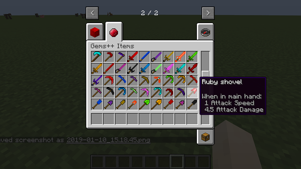 Gems Plus mod for minecraft screenshots 05