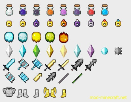 Gods Weapons Mod 5 [1.10.2] Gods Weapons Mod Download