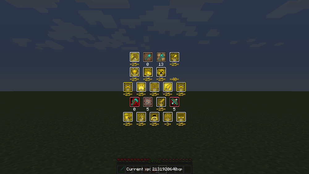 GokiStats mod for minecraft screenshots 01