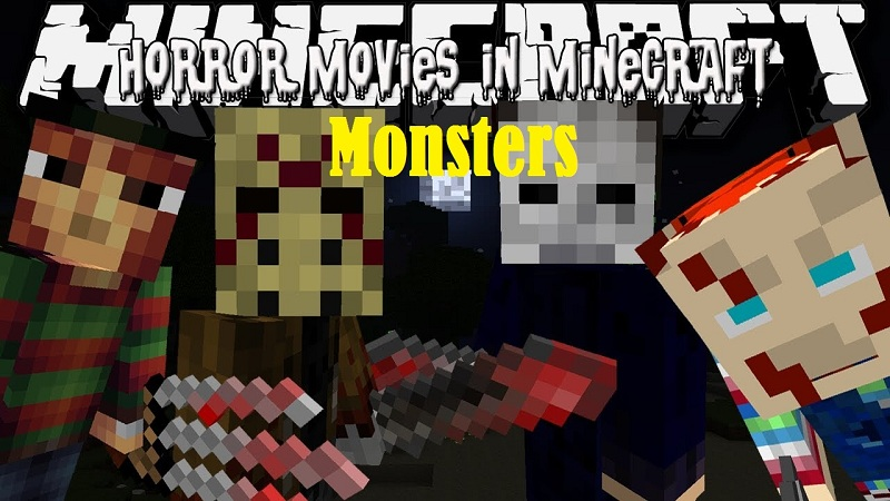 Horror Movie Monsters Mod