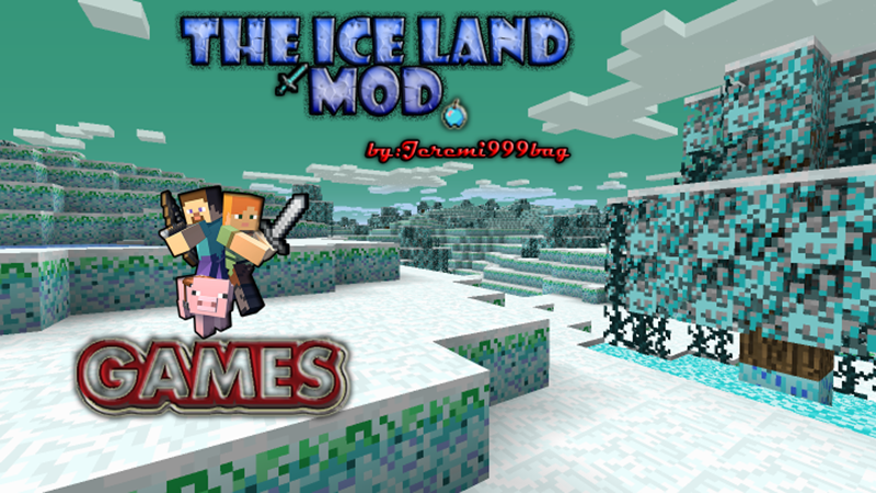 Ice Lands mod for minecraft