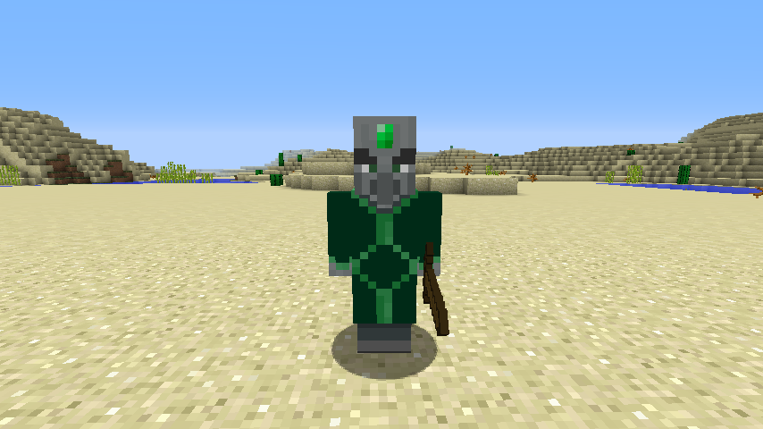 Illagers Plus mod for minecraft mobs 01