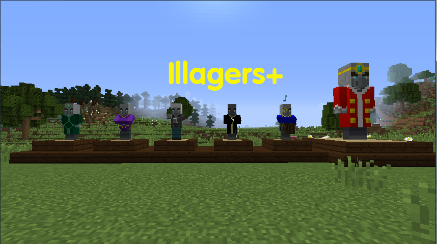 Illagers Plus mod for minecraft