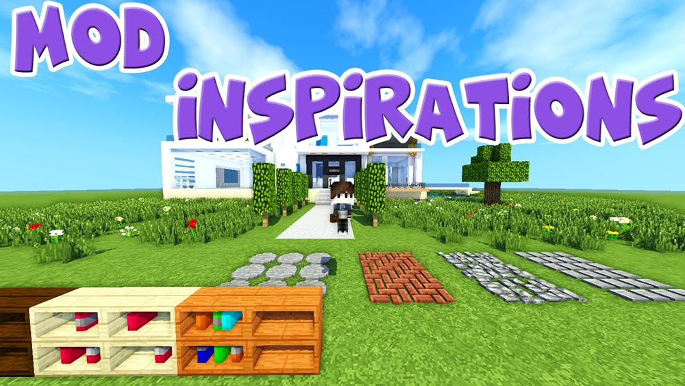 Inspirations mod for minecraft
