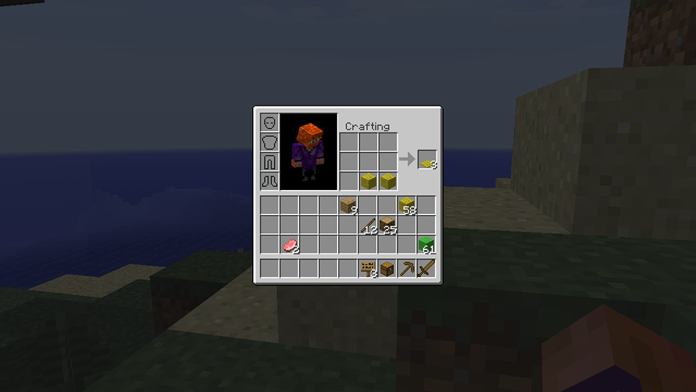 Inventory Crafting Grid mod for minecraft screenshots 02