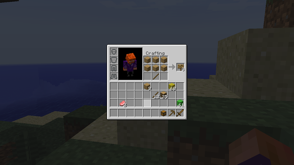 Inventory Crafting Grid mod for minecraft screenshots 03