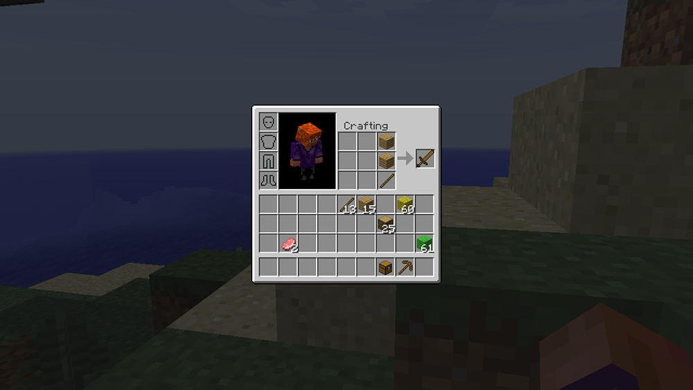 Inventory Crafting Grid mod for minecraft screenshots 04