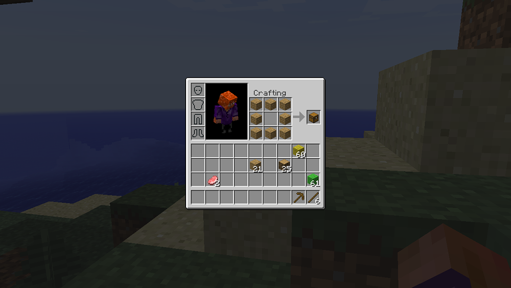 Inventory Crafting Grid mod for minecraft screenshots 05