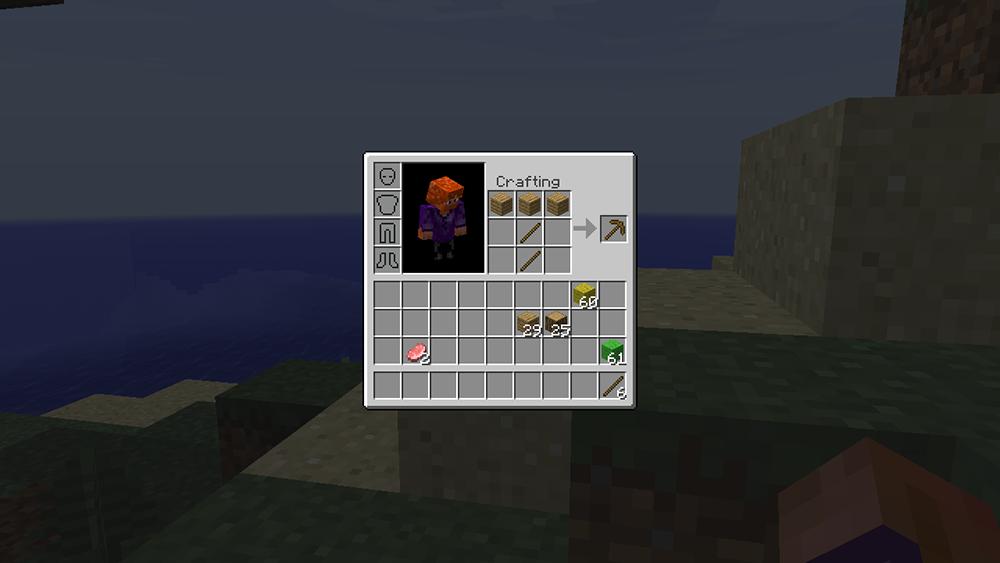 Inventory Crafting Grid mod for minecraft screenshots 06