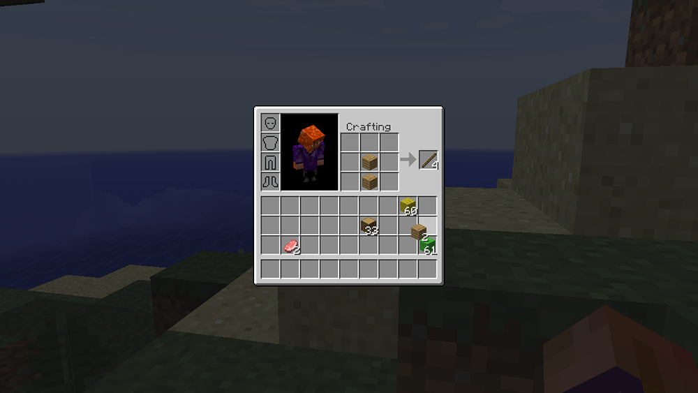 Inventory Crafting Grid mod for minecraft screenshots 07