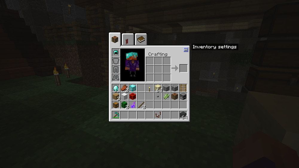 Inventory Crafting Grid mod for minecraft screenshots 09