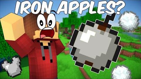 Iron Apples mod for minecraft