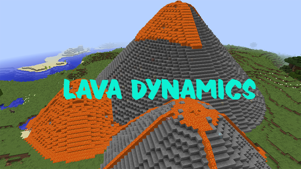 Lava Dynamics mod for minecraft